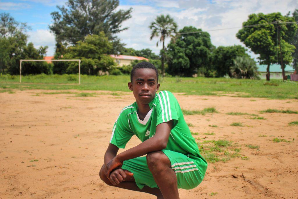 Play it Forward Football Player Boy's Team