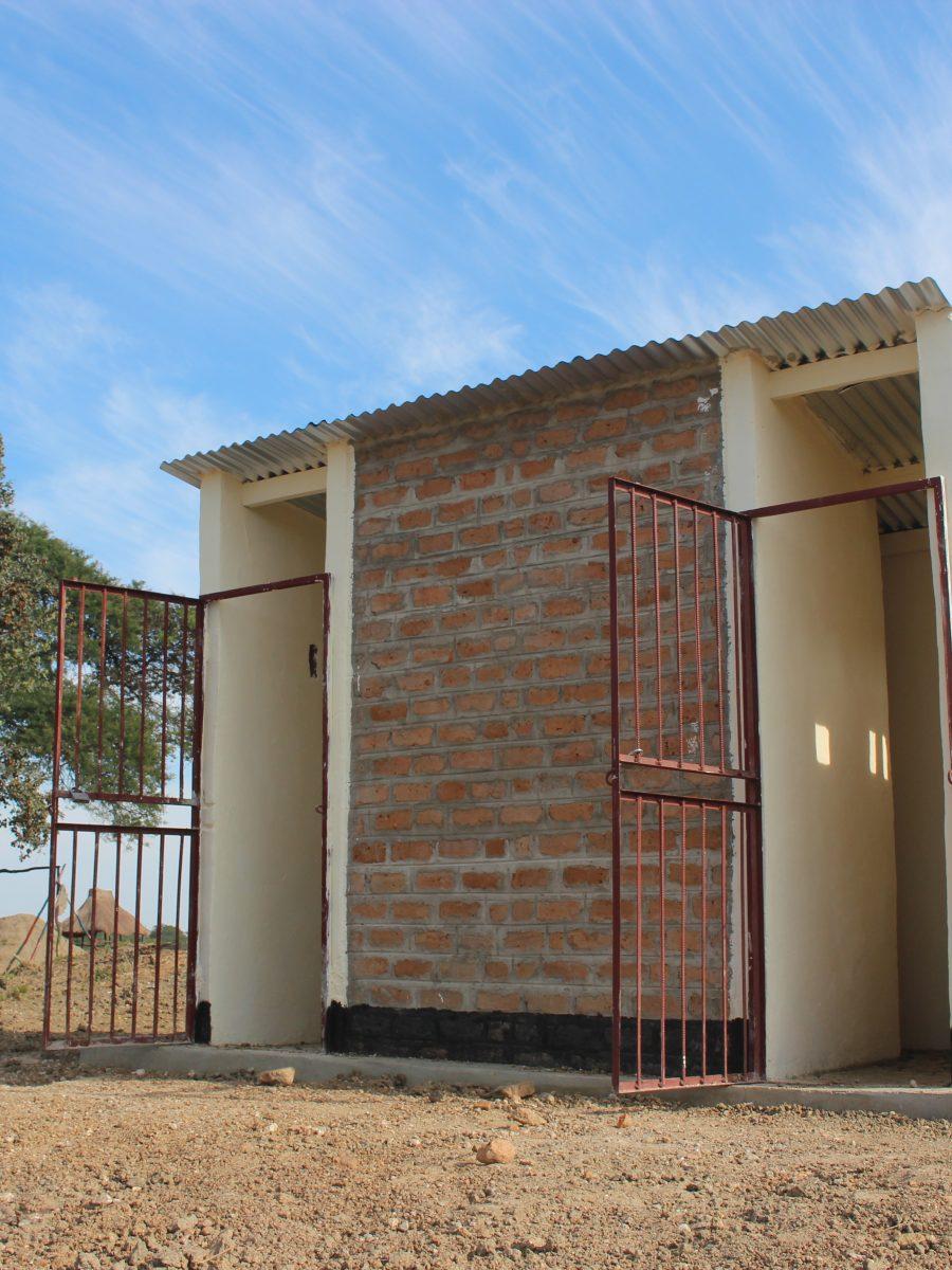 Namabondo school latrine