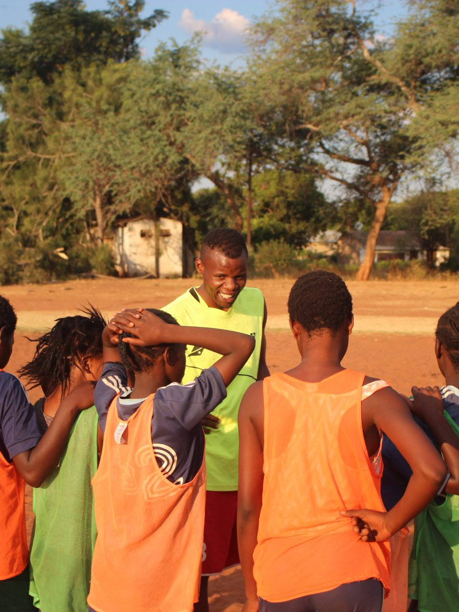 Sexual Health Football Coaching Session