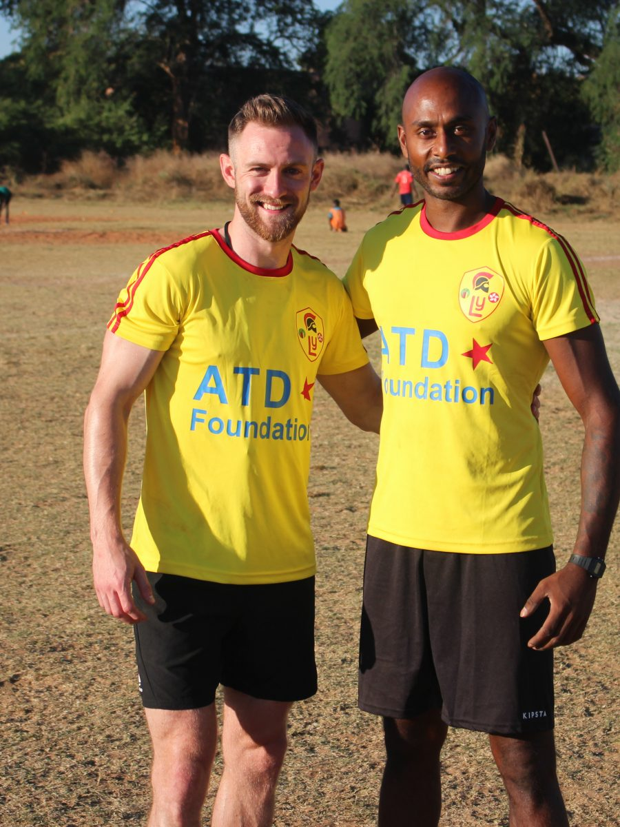 Volunteer Football Coaches in Zambia