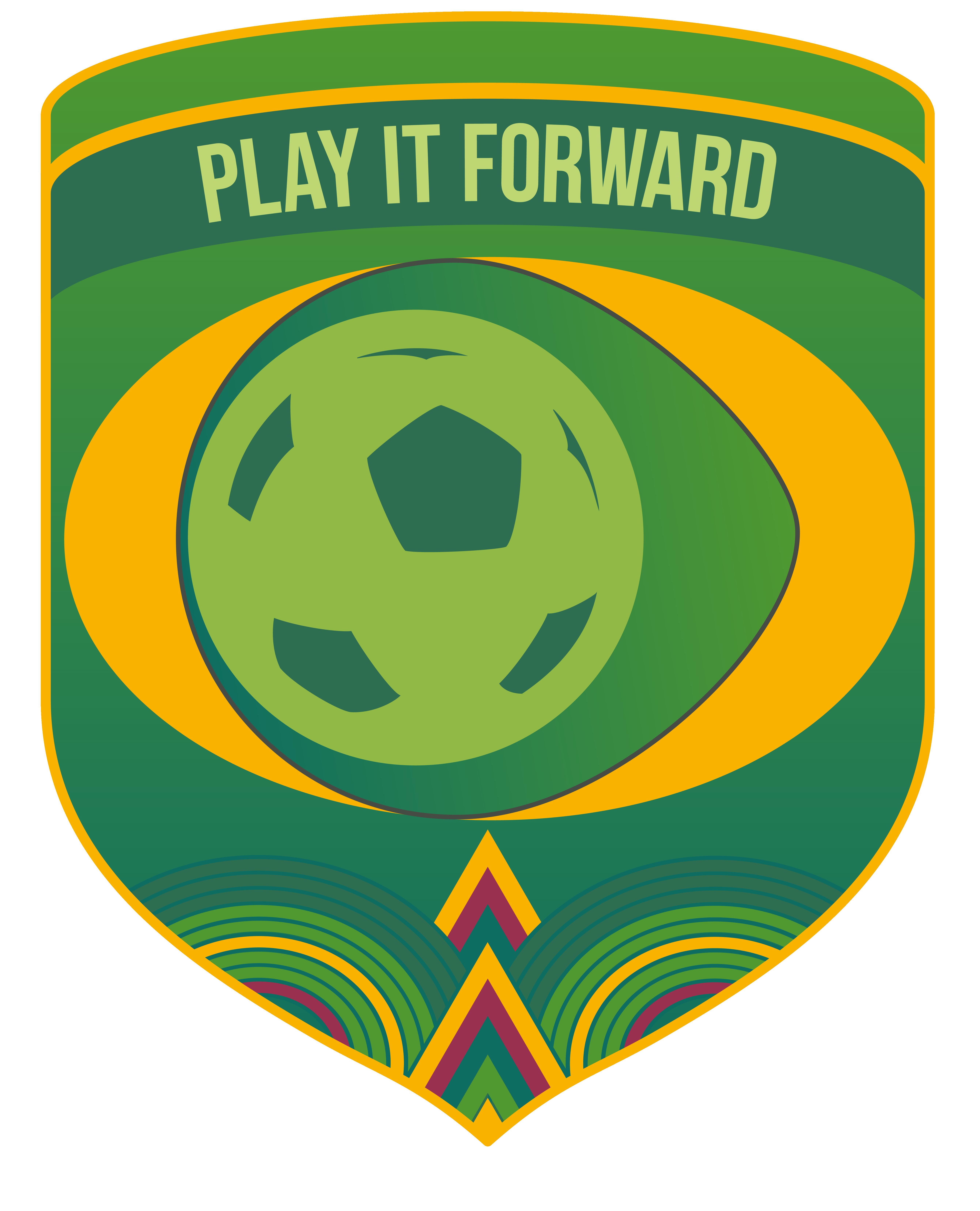 Play it Forward Football Club Logo