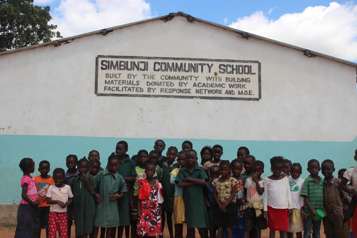 Old Simbunji School Classroom