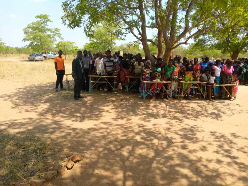 Community Members at Simbunji Community School