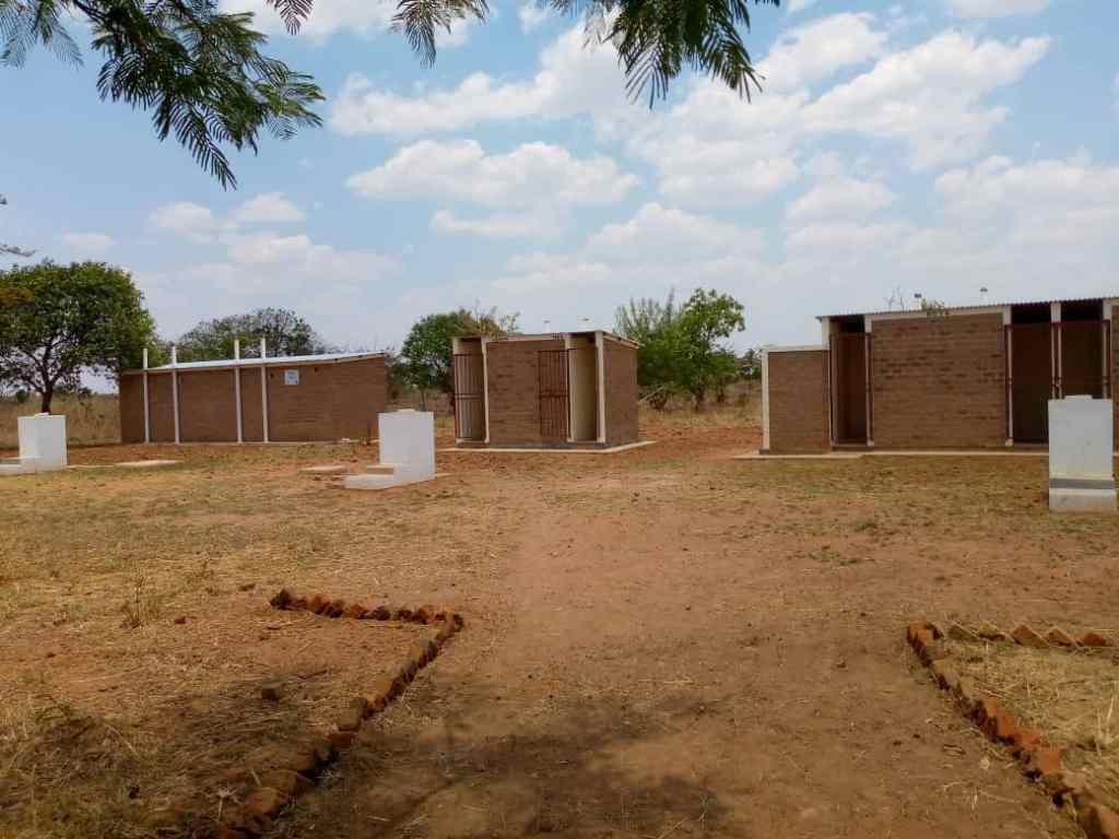The new latrines at Simbunji Community School