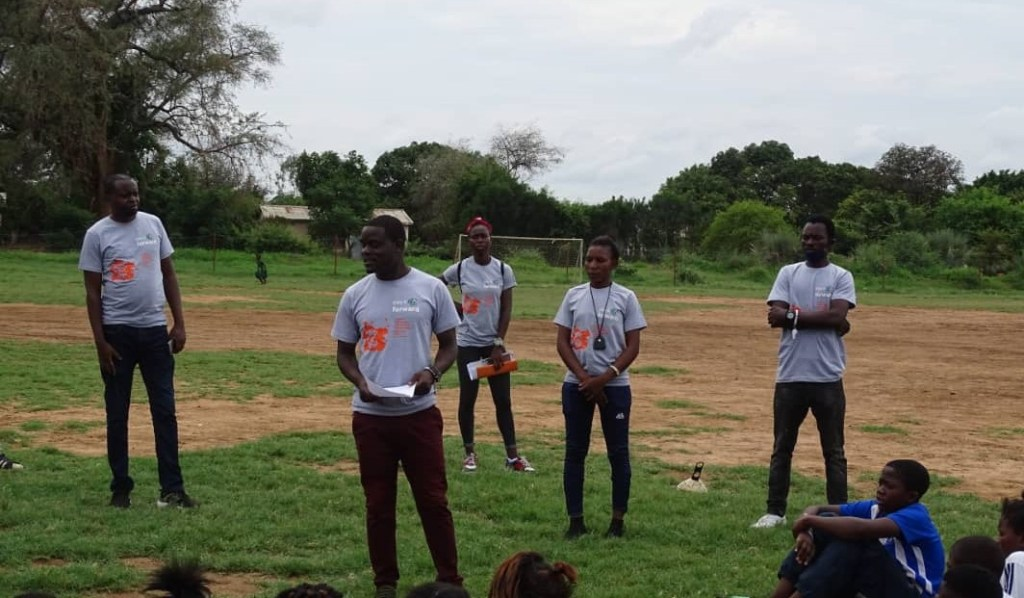 Play it Forward Zambia - 16 Days of Activism against Gender-Based Violence